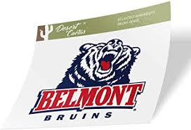 Amazon Com Belmont University Bruins Ncaa Vinyl Decal Laptop Water Bottle Car Scrapbook Sticker 00001 Arts Crafts Sewing