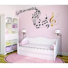 Custom Wall Decal Sticker Music Note Bedroom Living Room 20x30 Walmart Com Walmart Com
