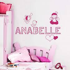 Amazon Com Wall Decals Personalized Name Angel Birds Wings Halo Heart Vinyl Sticker Nursery Room Bedroom Decal Baby Boy Girl Home Decor Art Murals Da3719 Kitchen Dining