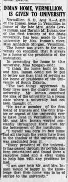 Darwin M. Inman; Argus-Leader, Sioux Falls, S.D. 4 August 1940 ...