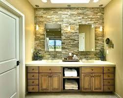 wooden rectangular bathroom mirrors