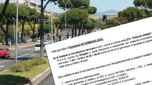Domenica ecologica, quali auto possono circolare il 9 febbraio a Roma