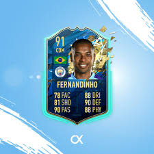 Man Citizens - Nova cartinha do Fernandinho no FIFA 20 👀💙🔥...