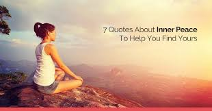 quotes about inner peace to help you yours