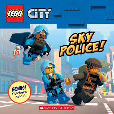 Sky Police! (LEGO City: Storybook with Stickers): Meredith Rusu ...