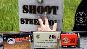 how close is too close to shoot steel