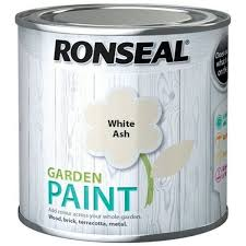 Ronseal Garden Paint White Ash Fence Paint Orion Paints