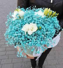 ورد Ward لون البحر في باقات الورود فيسبوك