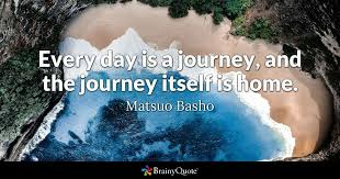 matsuo basho every day is a journey and the journey