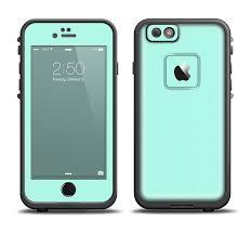 The Subtle Solid Green Apple Iphone 6 Lifeproof Fre Case Skin Set Designskinz