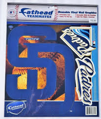 San Diego Padres Logo Fathead Teammates Wall Decal Set 2011 Rare For Sale Online Ebay