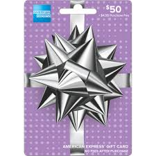 american express spikey bow gift card