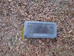 Mattie West Williams (1880-1912) - Find A Grave Memorial