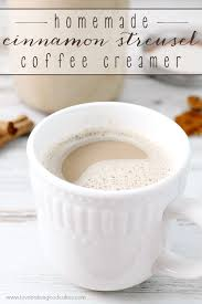 homemade cinnamon streusel coffee