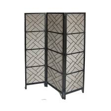 72 In X 59 In Black Outdoor Privacy Screen Lowe S Canada