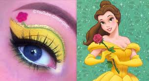 disney princess belle makeup tutorial