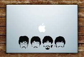 The Beatles Faces Laptop Decal Sticker Vinyl Art Quote Macbook Apple D Boop Decals