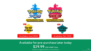 Pokemon Sword And Shield Announces Expansion Pass - News ...