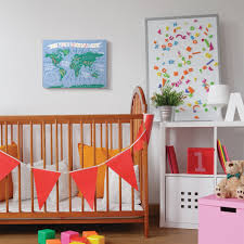 Shop The Kids Room By Stupell Baby Fox Animal Kids Painting 16x20 Proudly Made In Usa Multi Color Overstock 28700114