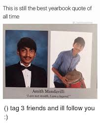 this is still the best yearbook quote of all titheblessedone