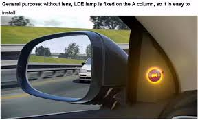 car blind spot monitoring bsm radar