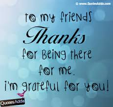 thank you friend quotes whats app com