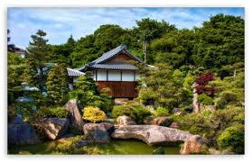 japanese garden ultra hd desktop
