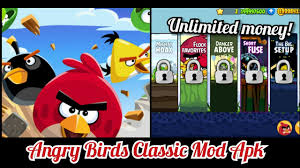 ANGRY BIRDS CLASSIC HACK MOD APK [Unlimited Money] - YouTube
