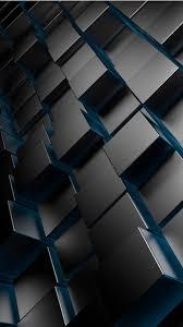 3d metal cubes wallpapers 480x854 90724
