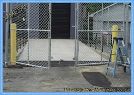3 Foot Industrial Chain Link Fence Fabric Durable Strong Surface Low Maintenance