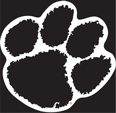 Clemson Paw Decal Decals Handmade Products