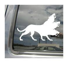 Cerberus Hellhound Greek Roman Mythology Car Window Vinyl Decal Sticker 06016 Ebay