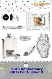 25th silver wedding anniversary gifts
