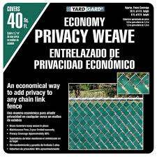 4 X 250 Ft Economy Vinyl Fence Weave White Chain Link Fence Weather Resistant For Sale Online Ebay