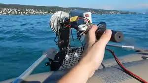 diy electric outboard final tests