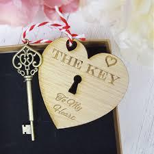 key to my heart handmade vine design