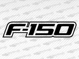 Ford F 150 Logo Decal Stickers