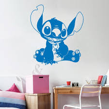 Wall Stitch Decal Baby Stitch Lilo And Stitch Ohana Baby Girl Etsy
