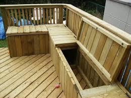 10 smart diy outdoor storage benches
