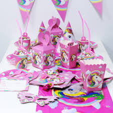 Serie De Unicornio Suministros Para Fiestas Infantiles Velas