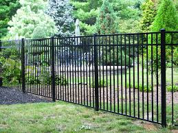 100 Asbury Black Aluminum Fence Material List At Menards