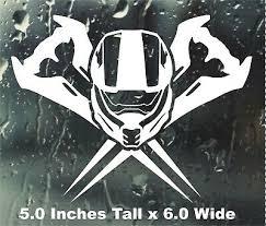 Master Chief Halo Vinyl Sticker Decal Helmet Sword Infinite Spartan Xbox Logo Ebay