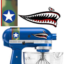 Kitchenaid Flying Tiger Shark Vinyl De Buy Online In Antigua And Barbuda At Desertcart