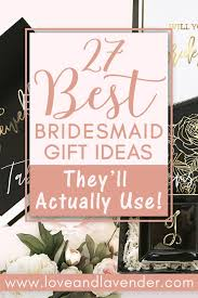 29 best bridesmaid gift ideas under 65