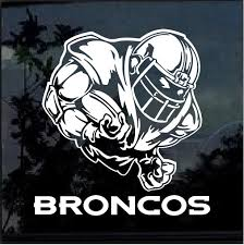 Denver Broncos Football Player Window Decal Sticker Custom Sticker Shop