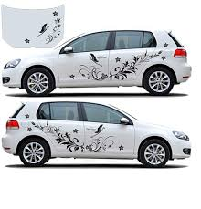 Top 9 Most Popular Car Decals Flowers List And Get Free Shipping A385