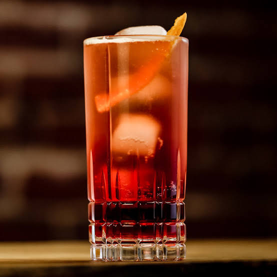 Image result for AMERICANO COCKTAIL""