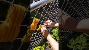 Yarn Heart Fence Weaving Youtube