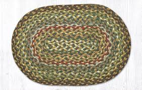 fir ivory braided jute accent mat 051