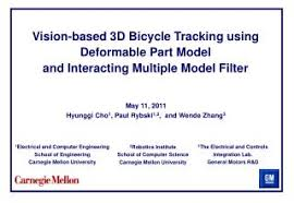 PPT - Vision-based 3D Bicycle Tracking using Deformable Part Model  PowerPoint Presentation - ID:4222481